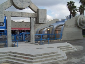 This is where Arnold used to workout in Venice Beach