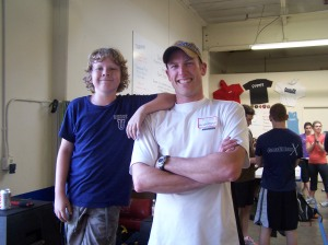 The infamous Duncan from CrossFit Kids