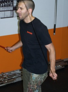 Pierre working on his double unders