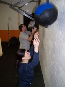 Sean and Gabrielle getting sweat on my balls