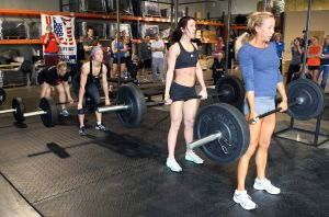 Some of the women of CrossFit