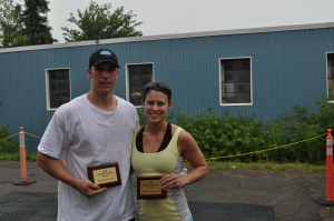 Runners-up - Tony Vienneau and Sarah Campbell