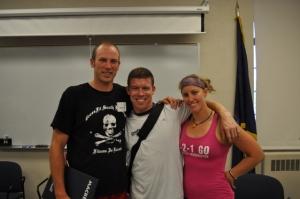Kevin, Jon (Again Faster) and Janine (CrossFit Bathurst)