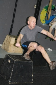 Let's see if this bullying thing works. This is Greg. He has some excuses as to why he hasn't come back yet. Michelle, can you let him know we have people with replaced knees, pacemakers and babies inside of them that are doing CrossFit.