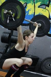 Nice overhead squat!