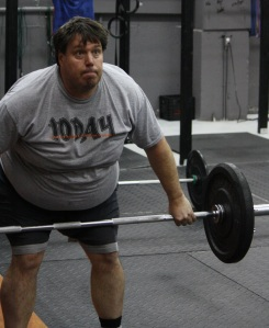 Tim works on his snatch