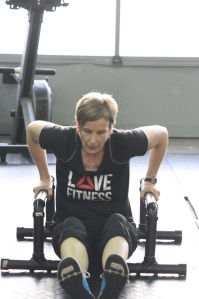 Laura loves fitness and CrossFit Moncton