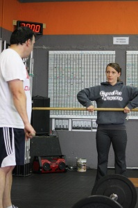 High quality coaching at CrossFit Moncton