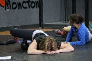 Lora and Maria finding out that mobility is the key to lifting