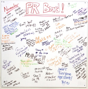 Tons of PRs for November. Let's fill up the December board!