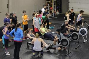 Last Saturday's rowing extravaganza!
