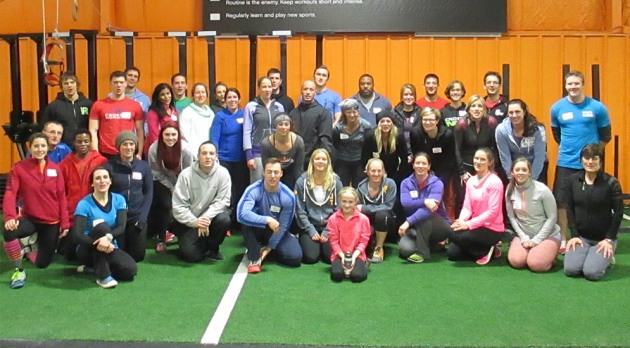 Can you find Blake in the picture? He's now CrossFit Kids certified!