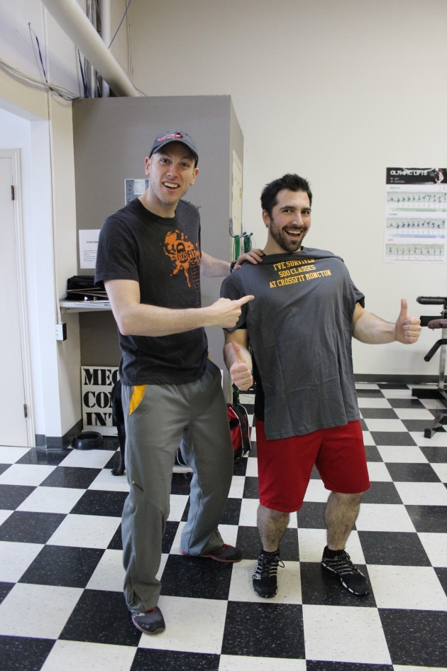 Mario has over 500 workouts (data points) under his belt!