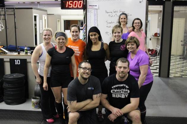 A great looking Oly Class from last night.