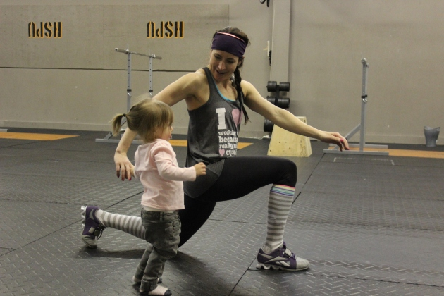 Here's one of our many inspiring CrossFit Moms!