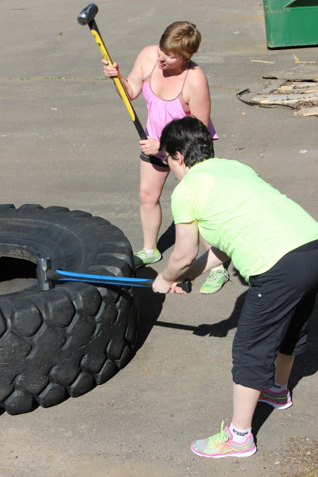 Beating the tire to death