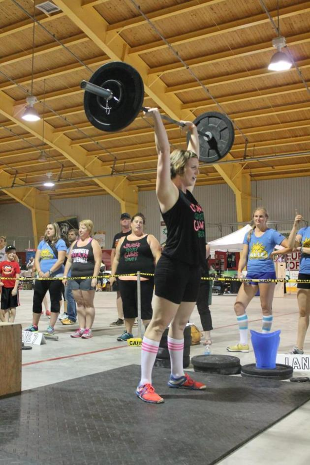 Angela takes on the thrusters