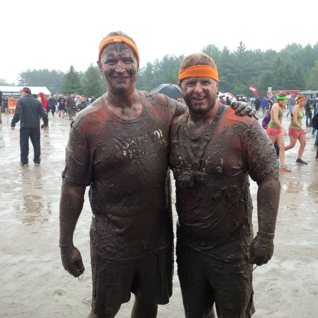 Congrats to Anthony and Bill for completing a Tough Mudder this weekend!