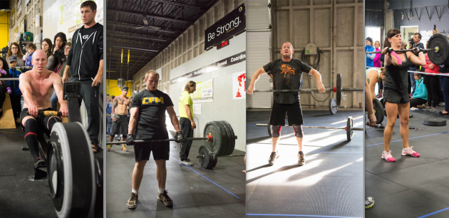 The CrossFit Moncton Crew! Courtesy of Wade Photography