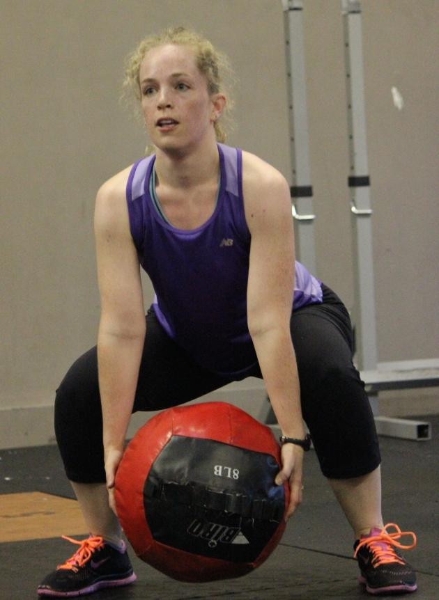 Laura focusing on form