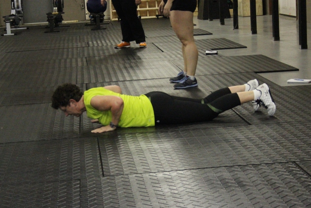 Marthe, a recent Prep Course grad, joins us for some burpees