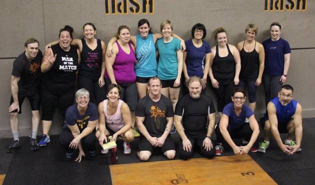 The amazing 6am class from last week!