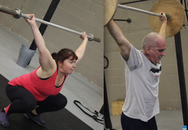 Wendy and Gerry - a cute CrossFit couple